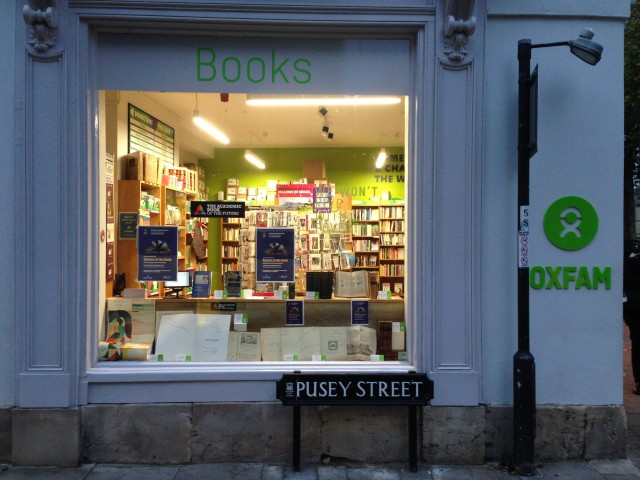 The Oxfam Bookshop, Oxford