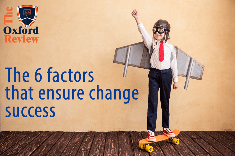 The 6 important factors that ensure change success