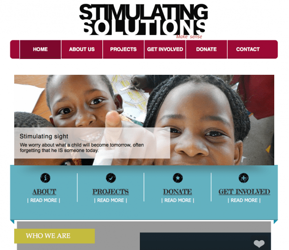 Stimulating Solutions Website