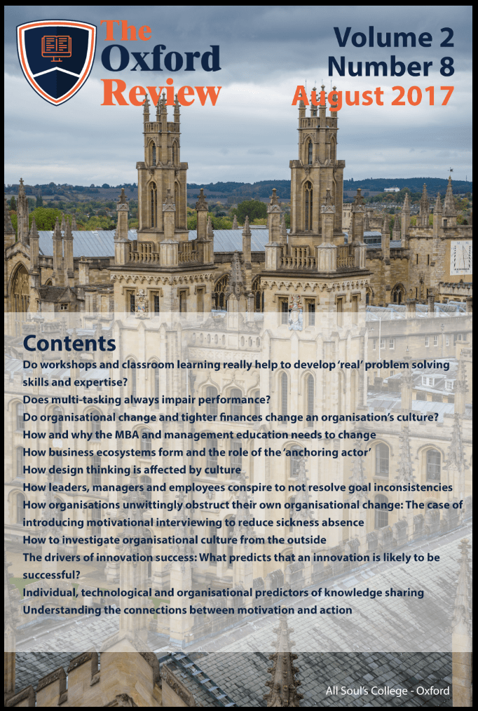 The Oxford Review Vol 2 No 8