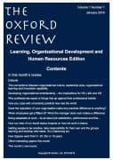 Oxford Review Vol 1 No 1 2016