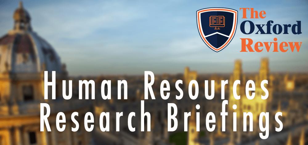 HR Research Briefings