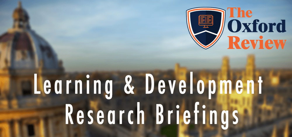 Learning & Development Research Briefings