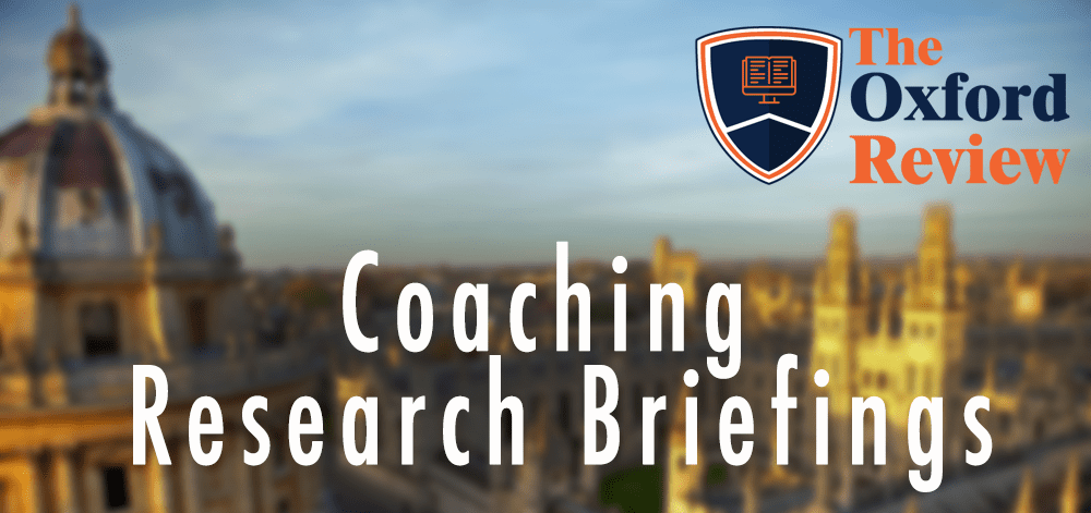 Coaching Research Briefings