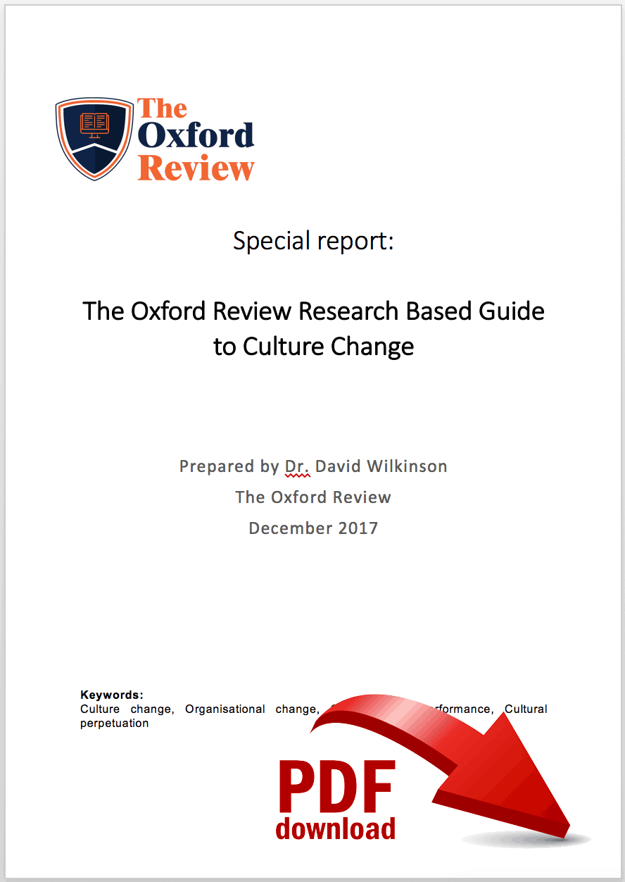 Culture change guide