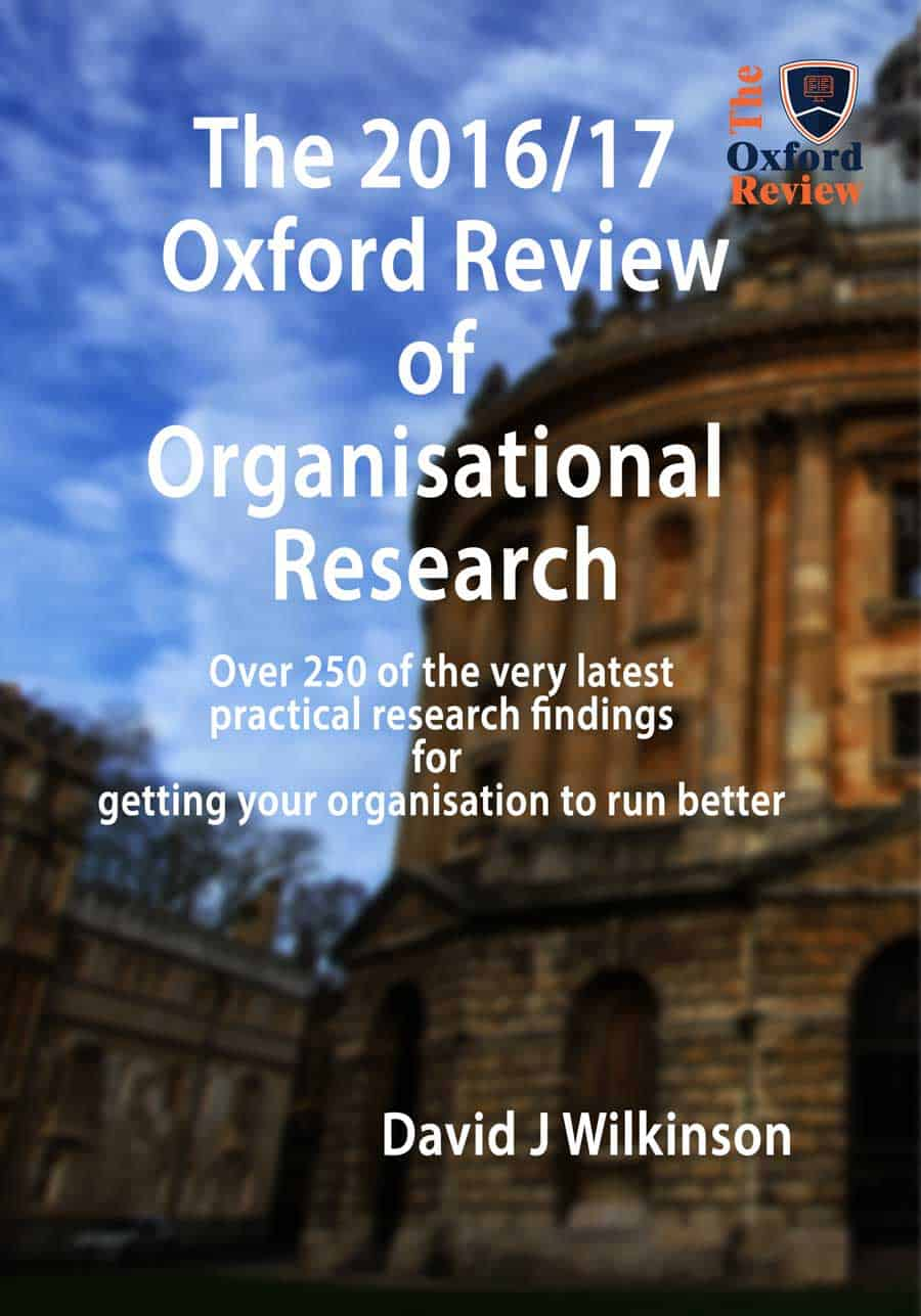 The Oxford Review Annual 2017