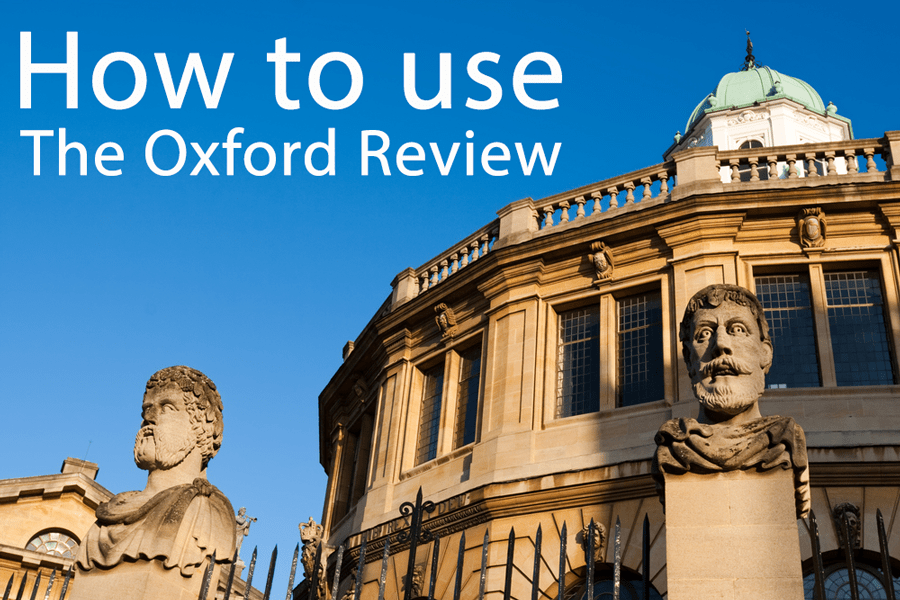 How to use The Oxford Review in your coaching practice