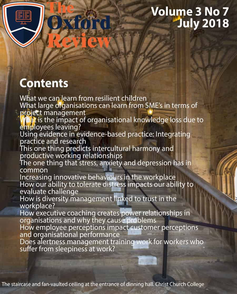 The Oxford Review Vol 3 No 7