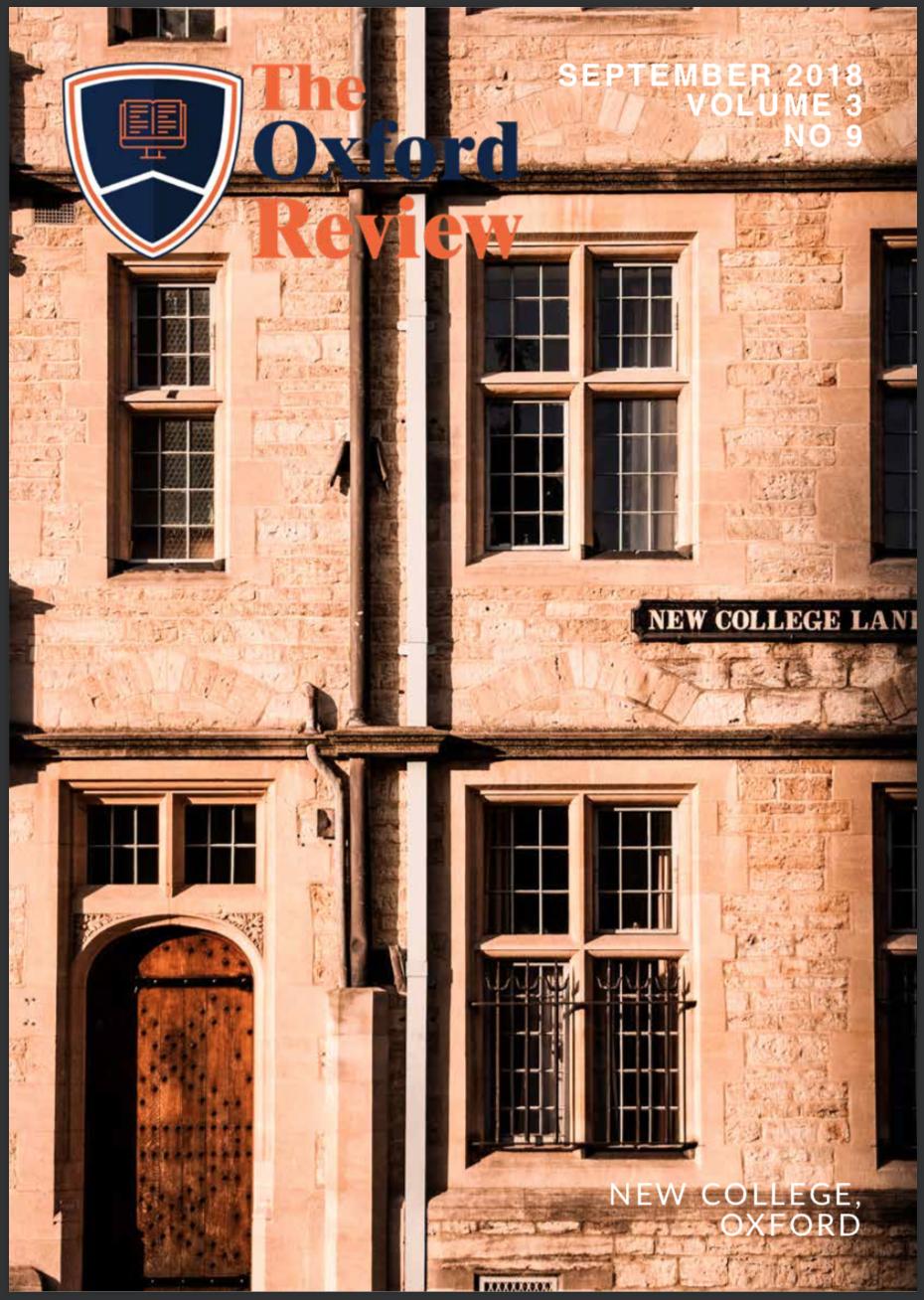 Oxford Review Vol 3 No 9