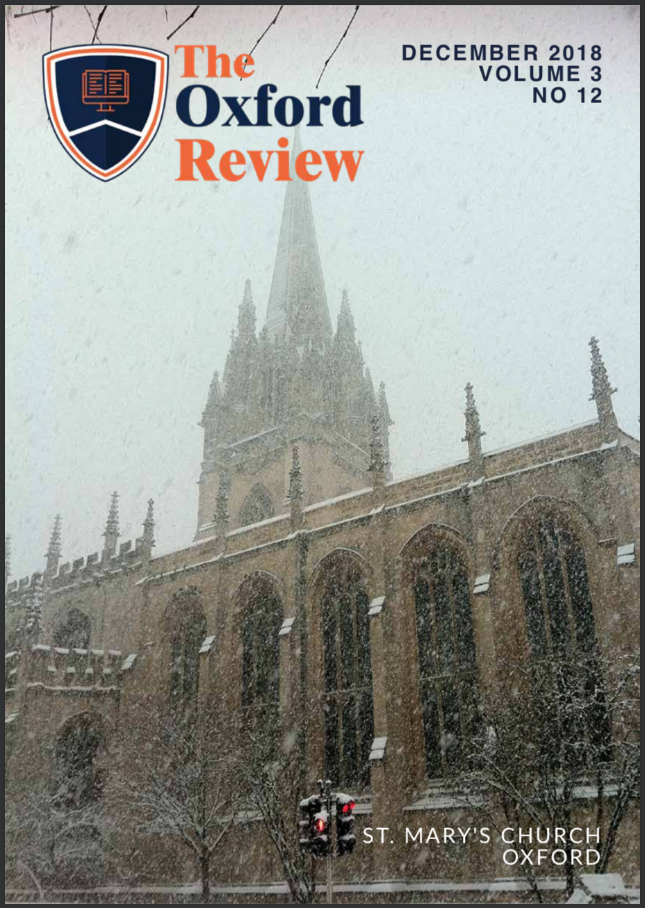 The Oxford Review Volume 3 No 12
