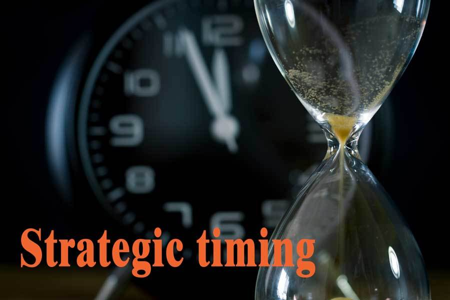 Strategic Timing