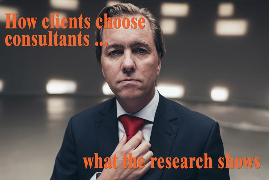 How clients choose management consultants
